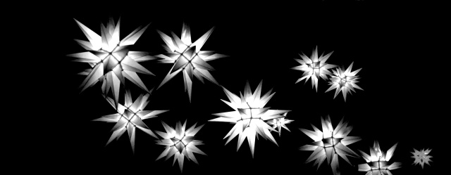 14. Stars at Longwood Gardens, Nikon DSLR, December 2012; © Sally W. Donatello and Lens and Pens by Sally, 2012
