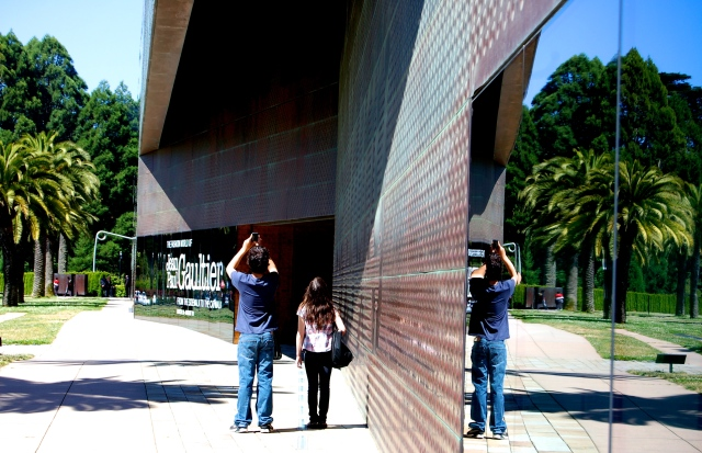 8. My Grandchildren, deYoung Museum, SanFrancisco, Nikon DSLR; © Sally W. Donatello and Lens and Pens by Sally, 2012