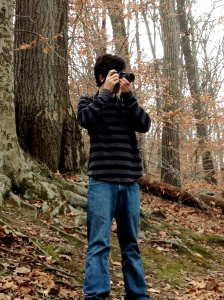 Cole, my grandson, White Clay Creek, November 2012; © Sally W. Donatello and Lens and Pens by Sally, 2013