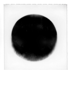 Sphere, Polaroid, October 2012; © Sally W. Donatello and Lens and Pens by Sally, 2013