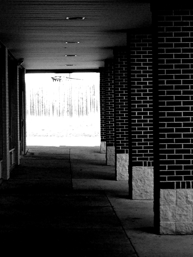 2. Walkway, iPhone 4s , January 2013; © Sally W. Donatello and Lens and Pens by Sally, 2013