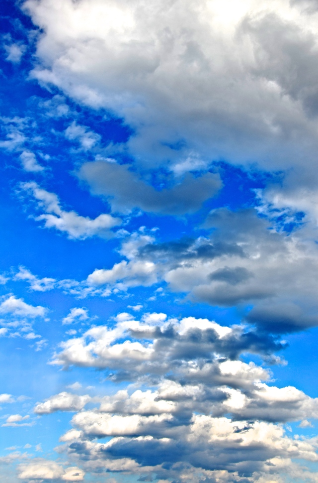 2. Cloudscapes, Nikon DSLR, March 2013; © Sally W. Donatello and Lens and Pens by Sally, 2013