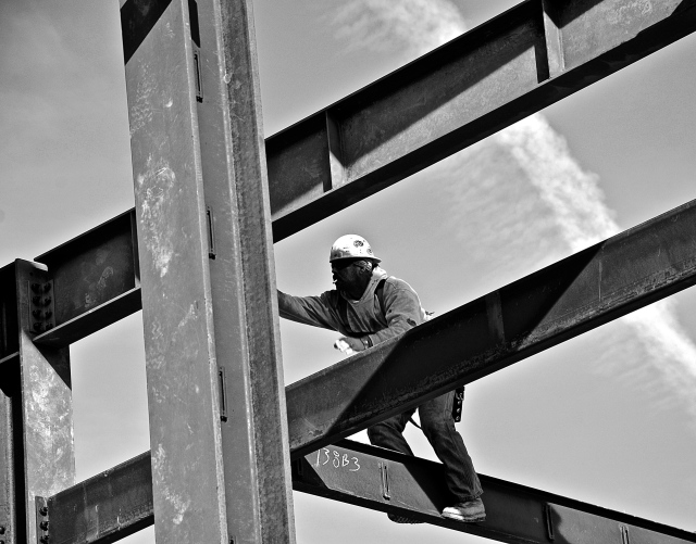 2. Construction, UD Campus, Nikon DSLR, January 2013; © Sally W. Donatello and Lens and Pens by Sally, 2013