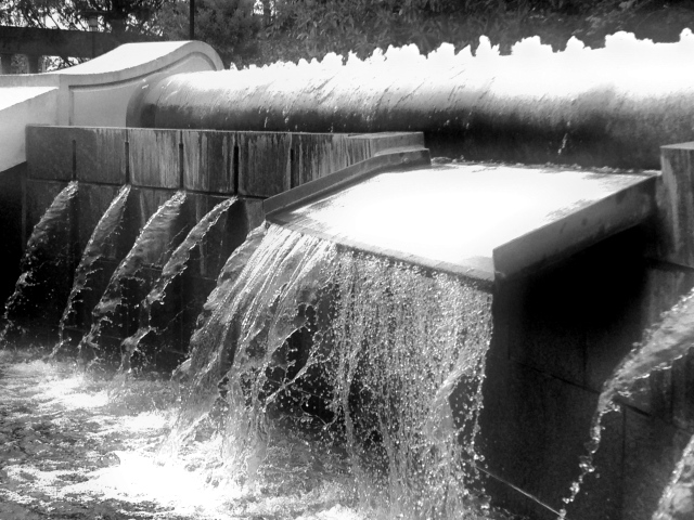 2. Waterfall, iPhone 4s, May 2013; © Sally W. Donatello and Lens and Pens by Sally, 2013