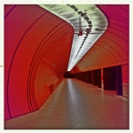 Marienplatz Ubahn by iPhone Lomo, Flickr Photostream