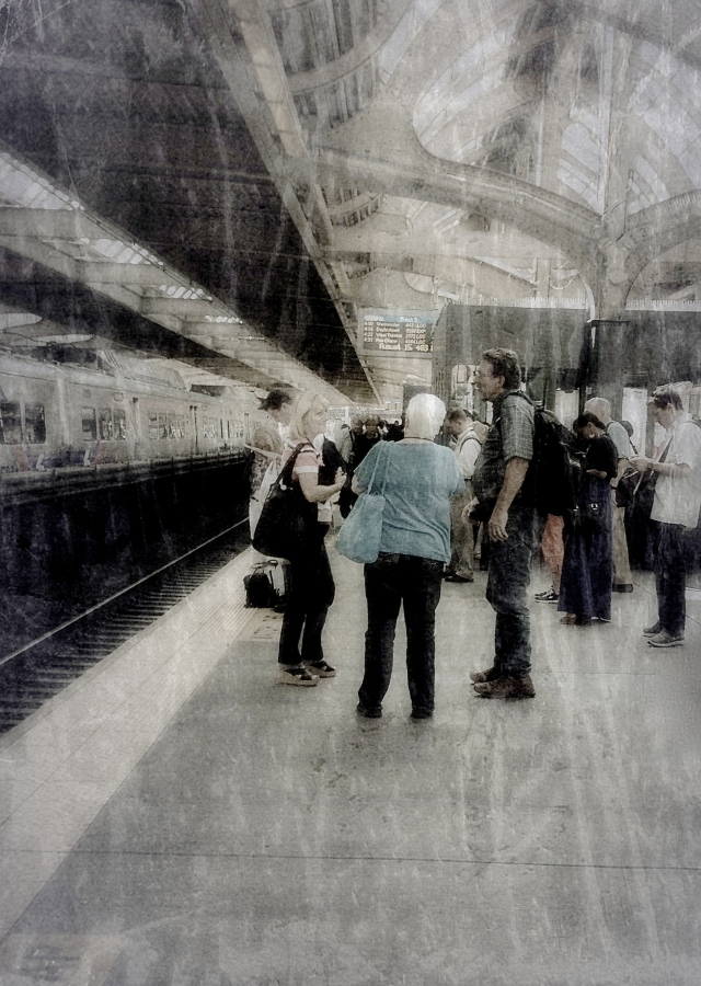 1. 30th Street Station, Philadelphia. iPhone 4s, August 2103; © Sally W. Donatello and Lens and Pens by Sally, 2013