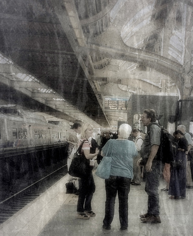 2. 30th Street Station, Philadlephia, iPhone 4s, August 2013; © Sally W. Donatello and Lens and Pens by Sally, 2013