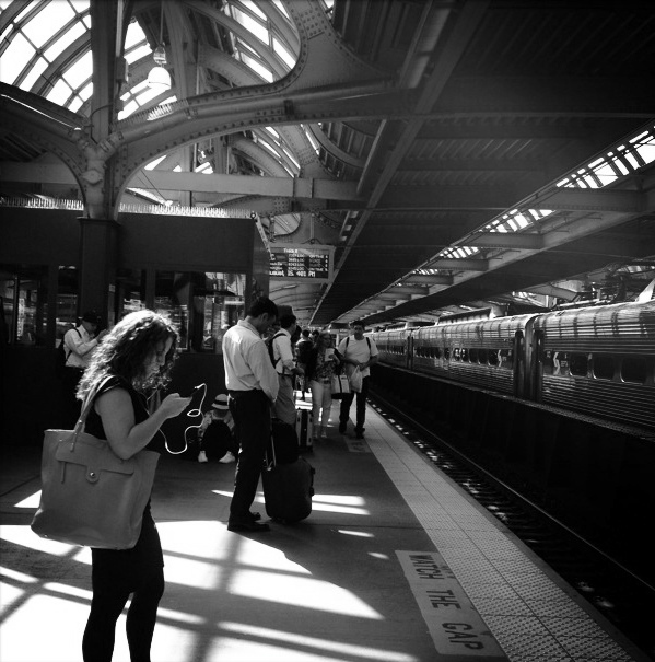 3. 30th Street Station, Philadelphia, iPhone 4s, August 2013; © Sally W. Donatello and Lens and Pens by Sally, 2013