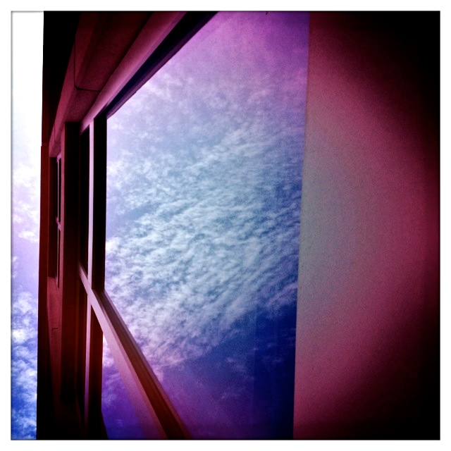 2. Clouds, iPhone 4s, September 2013; © Sally W. Donatello and Lens and Pens by Sally, 2013