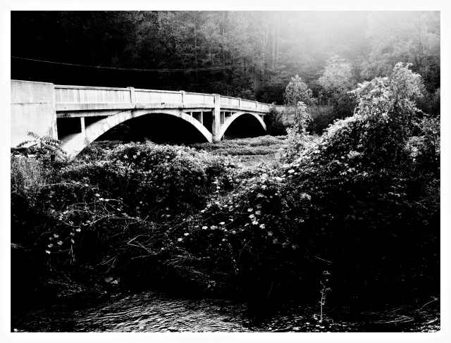 1. Embreeville Bridge, PA, iPhone 4s, October 2013; © Sally W. Donatello and Lens and Pens by Sally, 2013