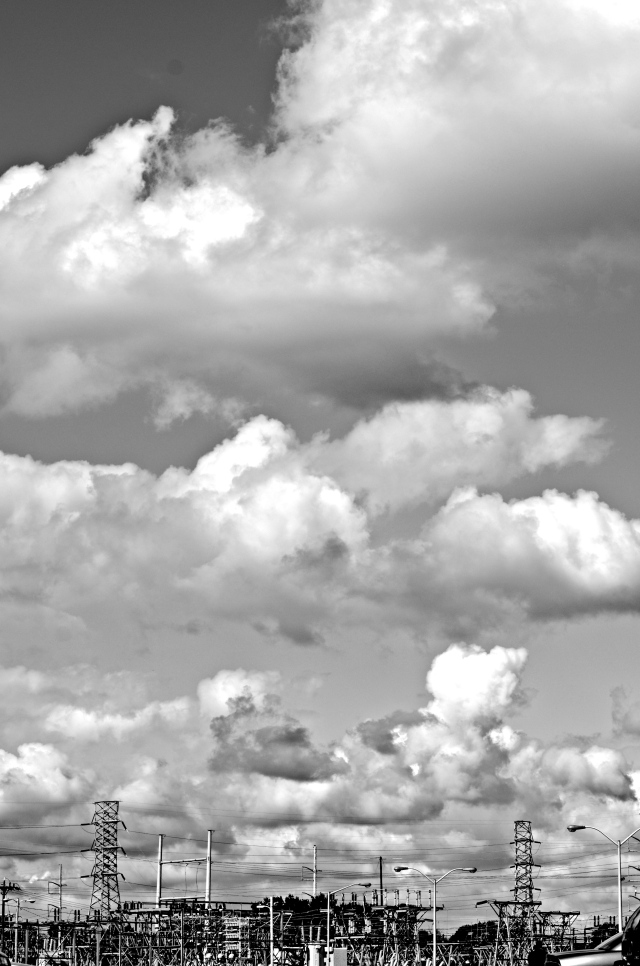 1. Morning Cloudscapes, Nikon DSLR, September 2013;© Sally W. Donatello and Lens and Pens by Sally, 2013