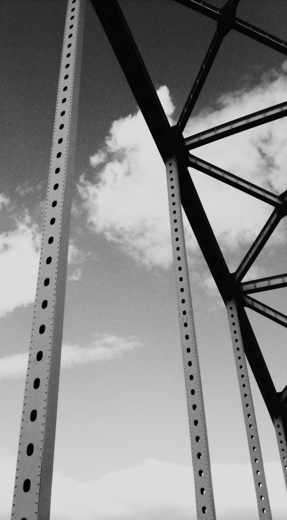 2. Chesapeake City Bridge, iPhone 4s, October 2013; © Sally W. Donatello and Lens and Pens by Sally, 2013