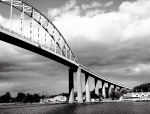 Chesapeake City Bridge, iPhone 4s, October 2013; © Sally W. Donatello and Lens and Pens by Sally, 2013