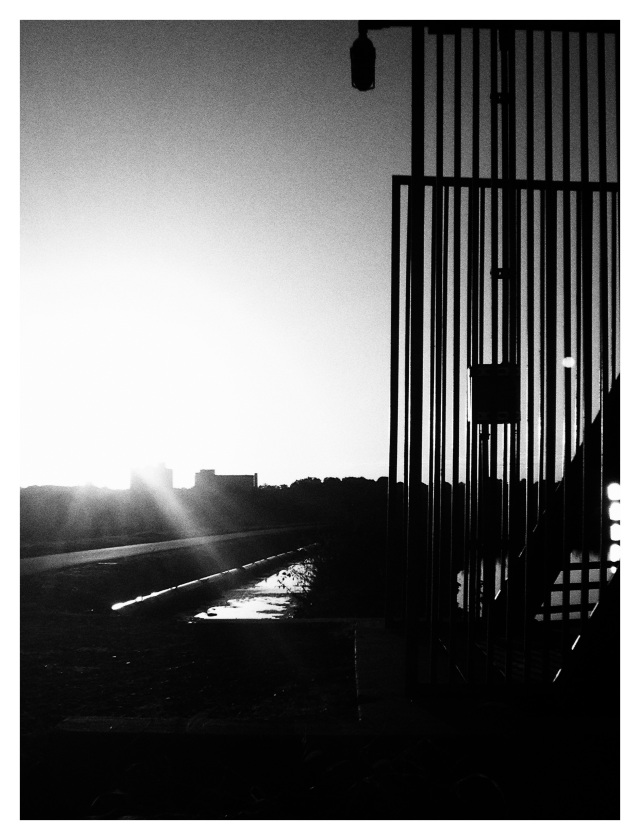 2. Reservoir at Sunset, iPhone 4s, October 2013;© Sally W. Donatello and Lens and Pens by Sally, 2013