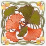 Ginkgo Leaves, Art Nouveau Google Images