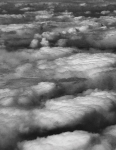 3. Cloudscape at Dusk, Flying East iPhone 4s, April 2014; © Sally W. Donatello and Lens and Pens by Sally, 2014
