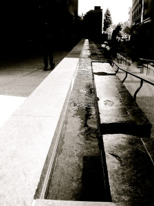 1. Urban Waterfall, San Francisco, California, iPhone 4s, Copyright © 2014 Sally W. Donatello All Rights Reserved
