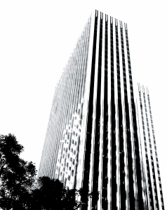 4. Skyscraper, San Francisco, iPhone 4s, Copyright © 2014 Sally W. Donatello All Rights Reserved Lens and Pens by Sally