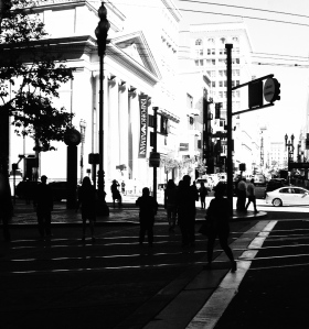 5. Street Life, San Francisco, California, iPhone 4s, Copyright © 2014 Sally W. Donatello All Rights Reserved Lens and Pens by Sally