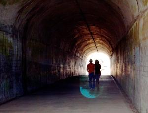 4. Tunnel near Marin Headlands, San Francisco, California, Nikon DSLR, June 2013; © Sally W. Donatello and Lens and Pens by Sally, 2014