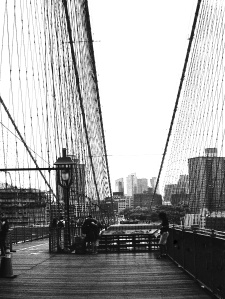 1. Brooklyn Bridge, New York; Copyright © 2014 Sally W. Donatello All Rights Reserved/Lens and Pens by Sally