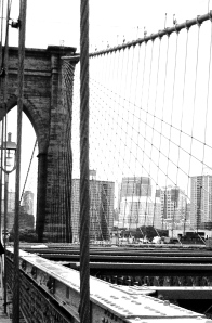 2. Brooklyn Bridge and Brooklyn, New York; Copyright © 2014 Sally