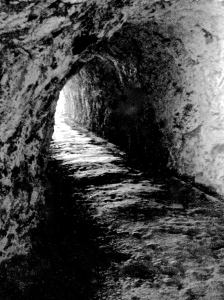 2. Tunnel to Bonita Lighthouse, Marin Headlands, California; Copyright © 2014 Sally W. Donatello All Rights Reserved/ Lens and Pens by Sally