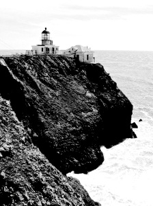3. Bonita Lighthouse, Marin Headlands, California; Copyright © 2014 Sally W. Donatello All Rights Reserved/ Lens and Pens by Sally