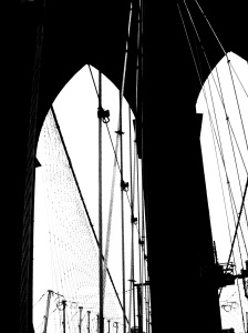 3. Brooklyn Bridge, New York; Copyright © 2014 Sally W. Donatello All Rights Reserved/Lens and Pens by Sally