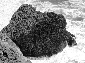 4. Crashing Waves, Marin Headlands, California; Copyright © 2014 Sally W. Donatello All Rights Reserved/ Lens and Pens by Sally