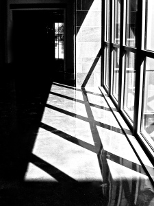 2. Hallway and Reflections, iPhone 4s; Copyright © 2014 Sally W. Donatello All Rights Reserved/Lens and Pens by Sally