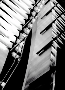 4. Staircase and Reflections, iPhone 4s; Copyright © 2014 Sally W. Donatello All Rights Reserved/Lens and Pens by Sally