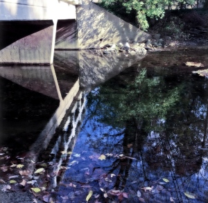 1a.  Bridge over the Creek; Copyright © 2014 Sally W. Donatello All Rights Reserved/Lens and Pens by Sally
