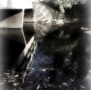 2b. Bridge over the Creek; Copyright © 2014 Sally W. Donatello All Rights Reserved/Lens and Pens by Sally