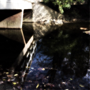 2c. Bridge over the Creek; Copyright © 2014 Sally W. Donatello All Rights Reserved/Lens and Pens by Sally