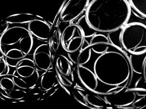 2. Two Equal Size Decorative Balls; Copyright © 2014 Sally W. Donatello All Rights Reserved/Lens and Pens by Sally.JPG
