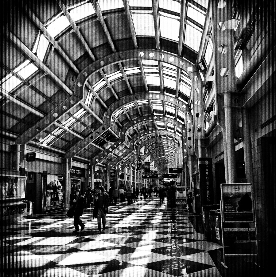 1. O'Hare Airport, Chicago; Copyright © 2016 Sally W. Donatello All Rights Reserved