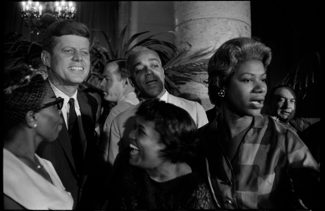 """John F.Kennedy, Democratic National Convention, Los-Angeles,"" 1960, Gary Winogrand"