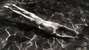 """Underwater Swimmer, a portrait of Kersetz's brother,"" 1917"